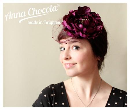 Flower Fascinator - Anna Chocola® 2013