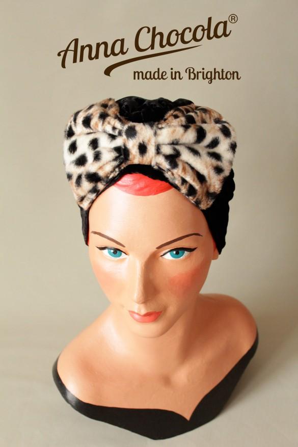 Bow Turban Hat - Anna Chocola® 2013