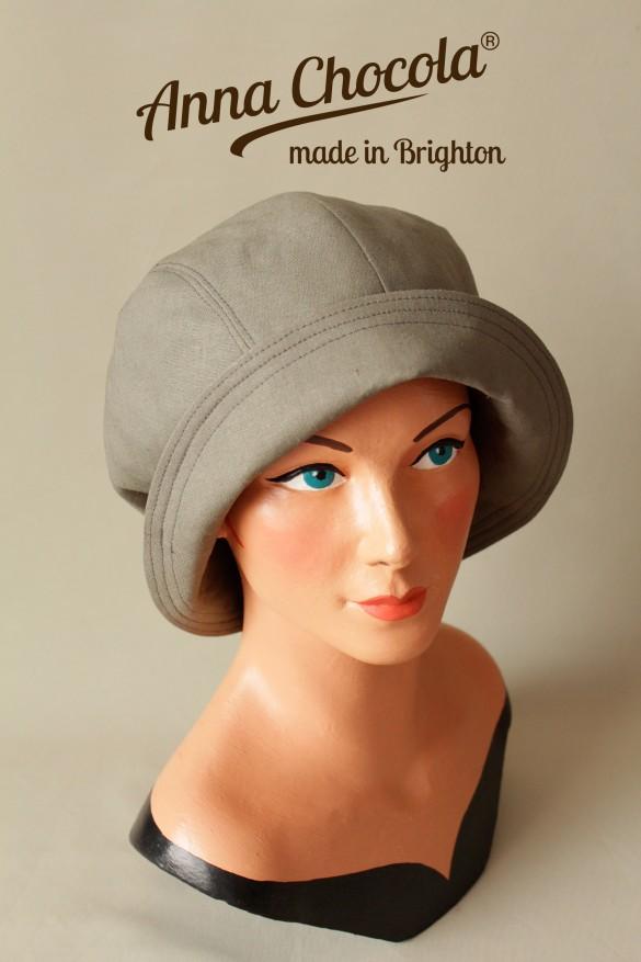 """""""Jacqueline"""" Cloche Hat - Anna Chocola® 2013"""