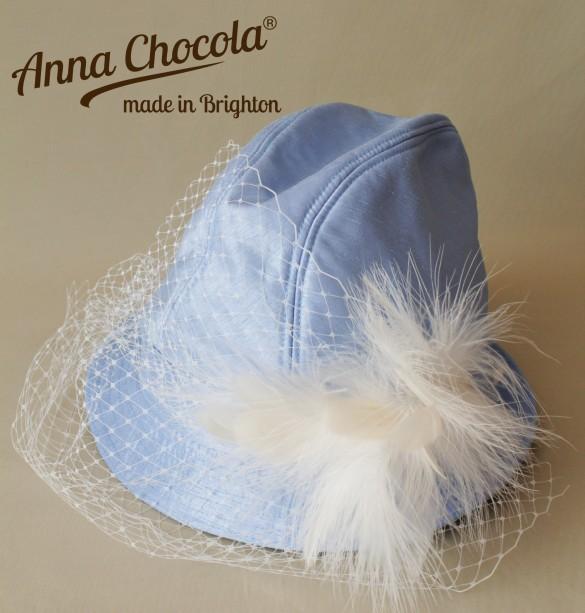 Ladies Fedora Trilby - Anna Chocola® 2013