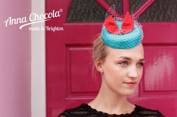"""""""Coquette"""" Pillbox Hat - Anna Chocola® 2013"""