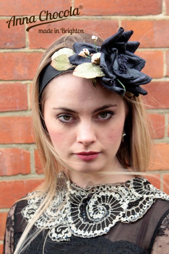 Paper Flower Headpiece - Anna Chocola® 2014