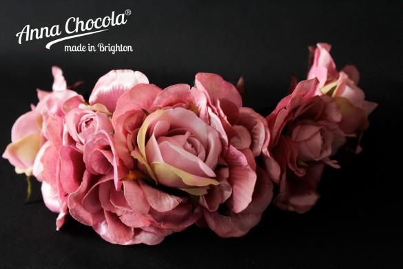 Flower Crown Headpiece  - Anna Chocola® 2014