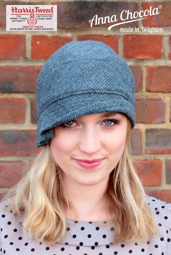 Harris Tweed Inès Cloche Hat - Anna Chocola® 2014