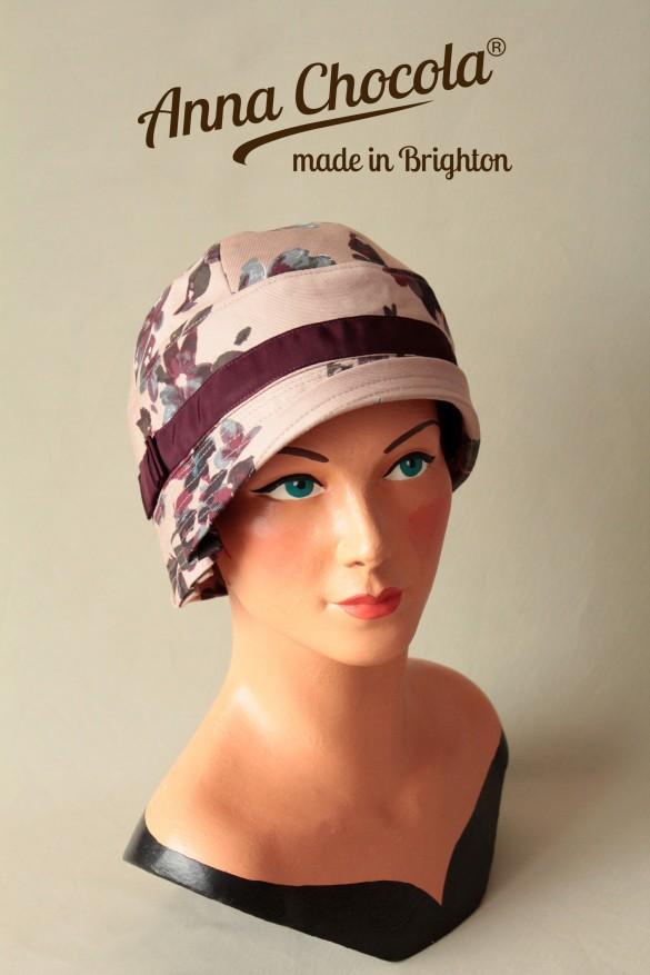 """Cotton """"Inès"""" Cloche Hat - Anna Chocola® 2014"""