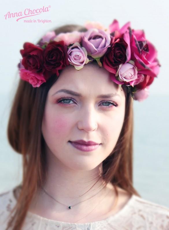 Folk Flower Crown - Anna Chocola® Brighton Milliner